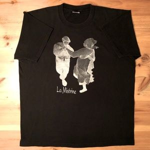 Vintage 1993 La Mistrine band shirt single stitch
